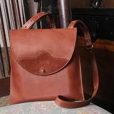 leather handbag cross brown main