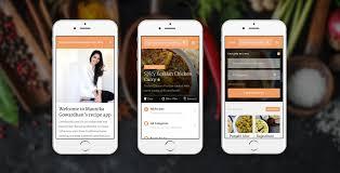 Recipe Writer App Mobile App Maunika Gowardhan