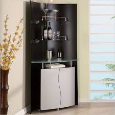 furniture for corner. turn any corner into a modern home bar with the global furniture cylinder mobile for e