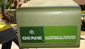 genie garage doorsOld Genie Garage Door Opener And Garage Door Springs For Genie