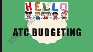 Esl English Powerpoints Budgeting