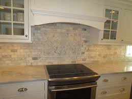 Backsplash Tile For Kitchen Marble Subway Tile Kitchen Backsplash With Feature Time Lapse