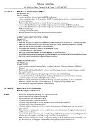 Histotechnologist Resume Sample Histotechnologist Resume Samples Velvet Jobs 1