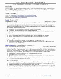 System Administrator Resume Format Doc Elegant Account Manager