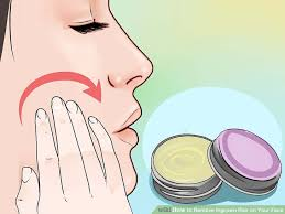 image led remove ingrown hair on your face step 12
