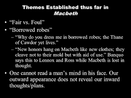 a powerpoint summary ppt video online themes established thus far in macbeth