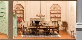 dollhouse dining room furniture. miniature dining room furniture dollhouse