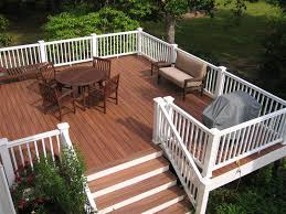 composite deck ideas. Delighful Composite Composite Decking And Rails On Deck Ideas N