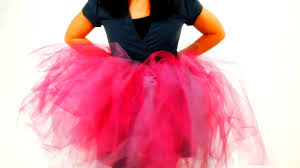 How To Cut The Tulle For A No Sew Tutu No Sew Crafts