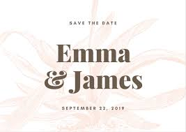 Free Online Save The Date Maker Canva