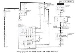 ford ranger wiring by color 1983 1991 click here for diagram page2
