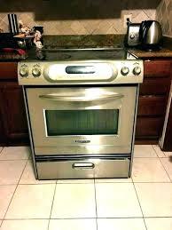 kitchenaid induction range induction range oven double reviews cooker slot in kitchenaid induction range installation