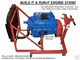 build your own engine testing stand (diy plans) fun to build! save Engine Run Stand Wiring Diagram ford 302 5 0 chevy chrysler engine test stand plans wiring diagram for engine run stand