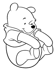 Small Picture Winnie The Pooh Kidding Happy Coloring Page Winnie The Pooh
