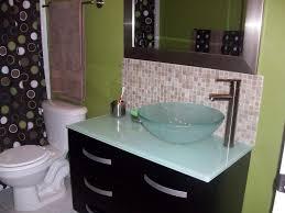 Where To Stop Tile Backsplash - Tile backsplash in bathroom
