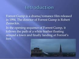 opening sequence analysis of forrest gump forrest gump
