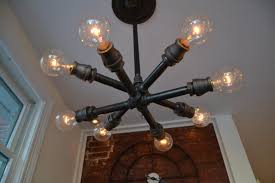 industrial lighting ideas. this unique light fixture has two layers of lights that form a starlike shape industrial lighting ideas s