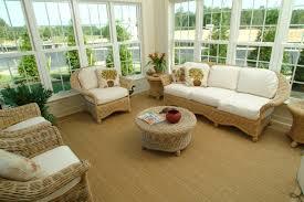 sun room furniture. natural sunroom furniture for interior decor idea ratan with white cuhsion modern sun room s