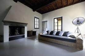 modern black white minimalist furniture interior. Amazing Ideas For Minimalist Design: Rattan Chair And Black Sofa Lather With White · « Modern Furniture Interior N