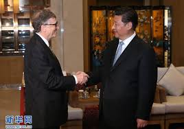 Xi Jinping Meets with Co-chair of Bill & Melinda Gates Foundation ...