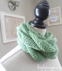 Knitted Infinity Scarf Pattern Custom Decorating