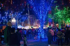 Light Show In Sedona Az Glendale Glitters Is The Best Christmas Light Display In