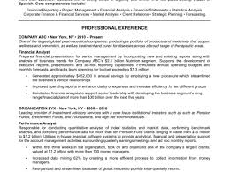 Examples Of Good Resumes resume Resume Examples Sample Resume For Banking Job Good Sample 79