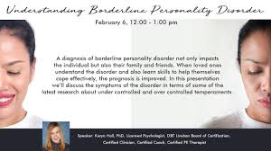understanding borderline personality disorder hope and healing center and insute