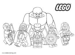 Lego Marvel Superhero Coloring Pages Free Printable Coloring Pages