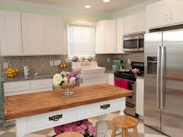 Refinished White Cabinets Refinishing Kitchen Cabinet Ideas Pictures Tips From Hgtv Hgtv
