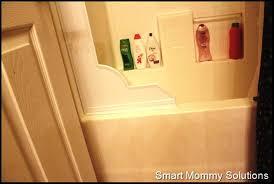 image of bathtub shower splash guard