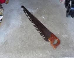 hand crosscut saw. antique saw logging 2 man crosscut,lumberjack hand tools,old rustic barn primitive crosscut