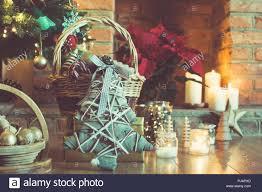 Weihnachten Einstellung Hintergrund Geschmückten