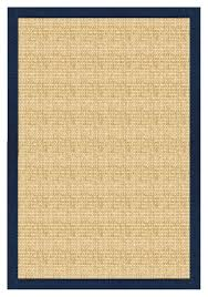marvellous design sisal rug with navy border perfect sisal rugs made in the usa great quality