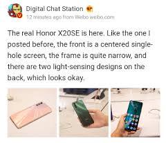 Honor #HonorX20SE Honor X20 SE Live ...
