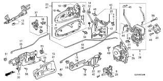 honda online store 2009 s2000 door locks outer handle parts 2009 s2000 cr 2 door 6mt door locks outer handle diagram