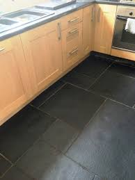 Gray Tile Kitchen Floor Kitchen Room Design Architecture Kitchen Alluring Using Black