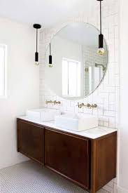 dark light bathroom light fixtures modern. Bathroom Lighting Over Vanity. 37 Amazing Mid-century Modern Bathrooms To Soak Your Senses Dark Light Fixtures