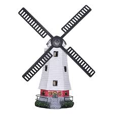 bright garden solar windmill garden