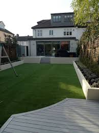 Small Picture modern minimalist garden design low maintenance high impact garden