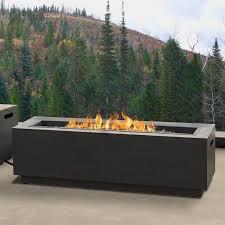 natural gas fire bowl.  Bowl Lanesboro Rectangle Steel PropaneNatural Gas Fire Pit Inside Natural Bowl