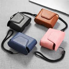 Từ Bao Da Hộp Bảo Vệ Cho Sony WF 1000XM3 Tai Nghe Bluetooth Tai Nghe Chụp  Tai Full Cover Bảo Quản Túi Bảo Vệ|Earphone Accessories