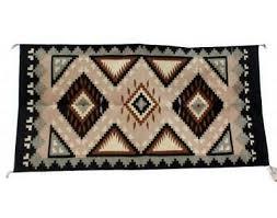 Eleanor Trujillo, Two Grey Hill Rug, Navajo Handwoven, 31 in x 60 ...