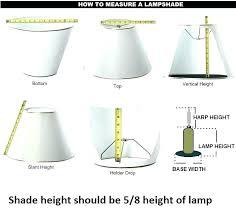 How To Measure A Lamp Harp Cinselsaglikmerkezleri Co