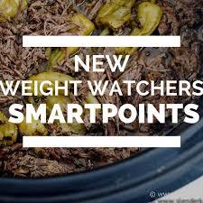 new weight watchers smartpoints program