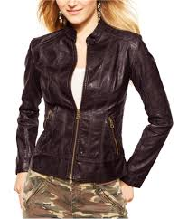 guess womens faux leather motorcycle jacket