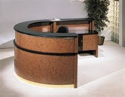 round office desks. curved office desks modern reception u2013 san diego california furniture round