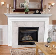 com pearl mantels 510 48 newport 48 inch fireplace mantel surround with um density fiberboard white home improvement