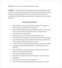 Marketing Analyst Resume Template Free Samples Examples Business ...