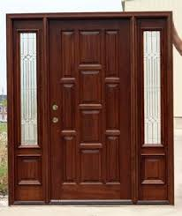 door furniture design. 10 Panel Front Door With Sidelights, Pre-finished. Furniture Design